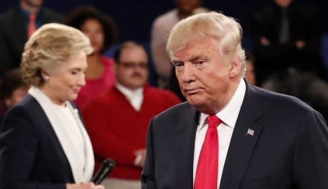 ABC News Presidential Poll: Clinton over Trump by double-digits