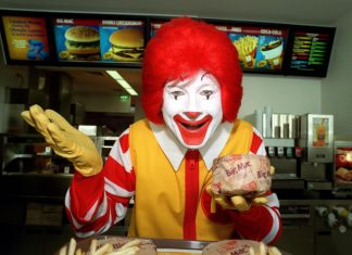 McDonald's Is Benching Ronald McDonald After Scary Clown Sightings