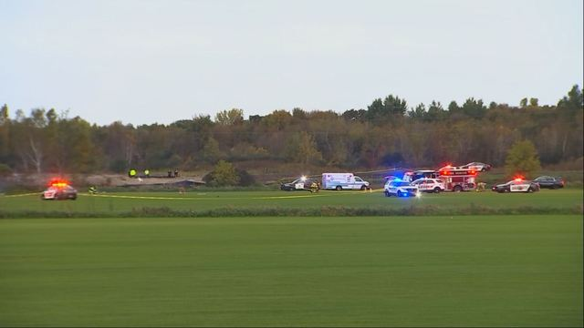Minneapolis: Helicopter crash in Lino Lakes, killing two