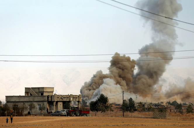 US soldier killed after bomb blast in Mosul