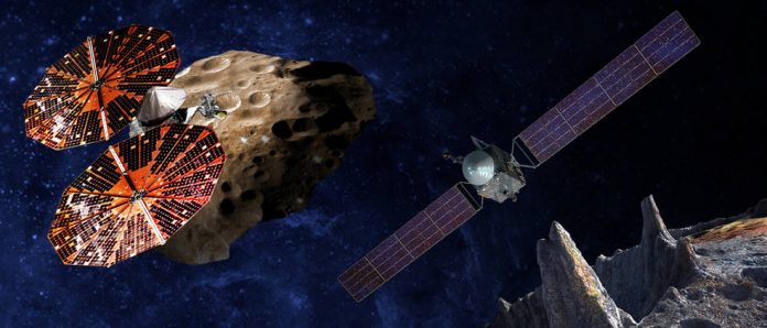 Nasa announces new missions including Jupiter's Trojan asteroid belt