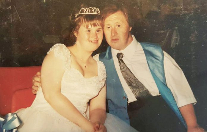 Couple with Down syndrome celebrate 22 years of marriage (Watch)