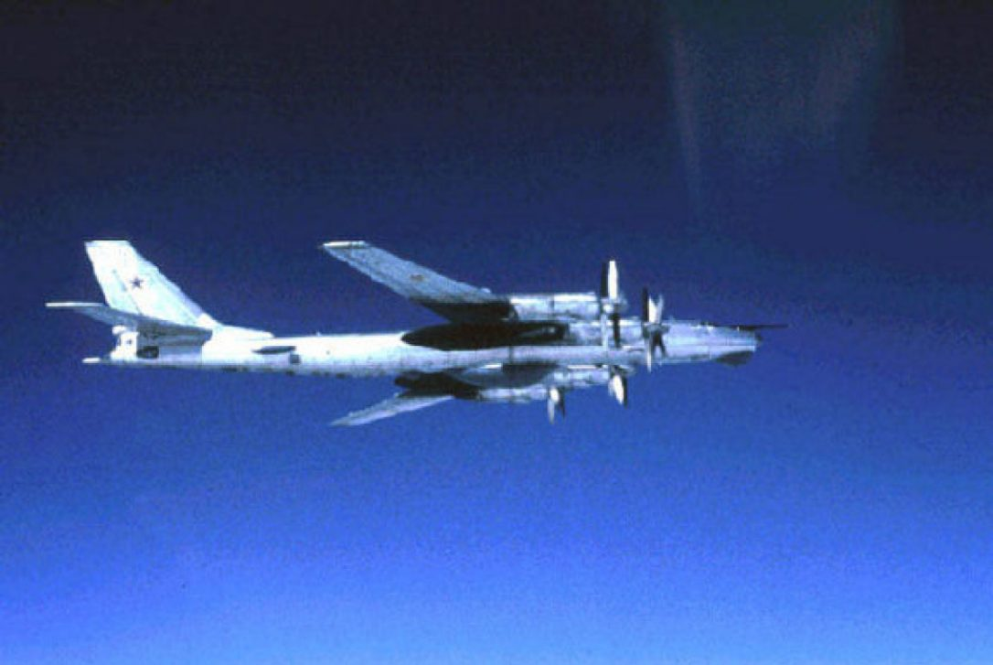 United States  fighter jets intercept 2 Russian bombers off Alaska's coast