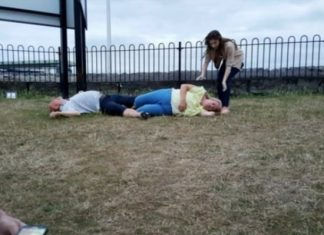 Dirty Dancing Fail! A Couple Knocked Each Other Unconscious (Watch)