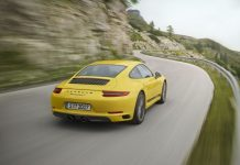 Porsche 911 Carrera T added to range (Photo)
