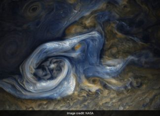 There's a massive storm brewing on Jupiter and NASA's Juno probe has captured it