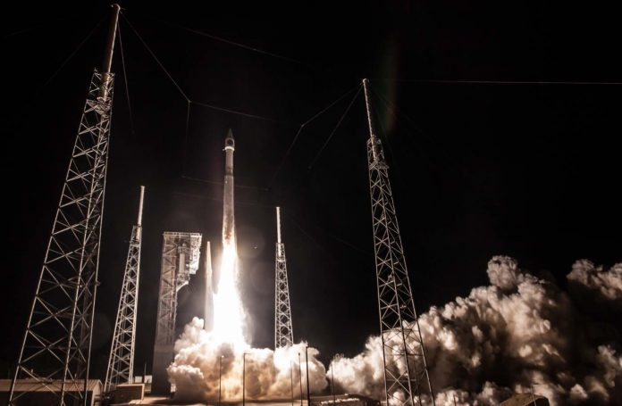 Atlas V launches with SBIRS GEO-4 (Video)