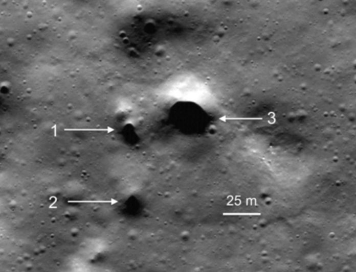 NASA finds possible lava tubes that could support lunar colonies (research)
