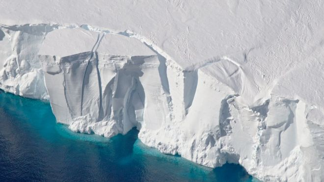 Research: El Nino's long reach to Antarctic ice