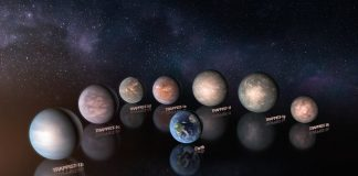 TRAPPIST-1 Planets Probably Rich in Water, researchers say