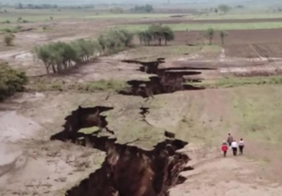 Africa Is Splitting In Two At An Alarming Rate (Video)