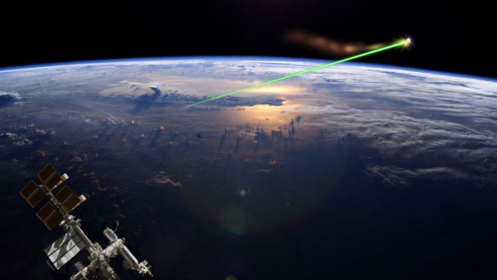 Researchers plan to use lasers to shoot space junk