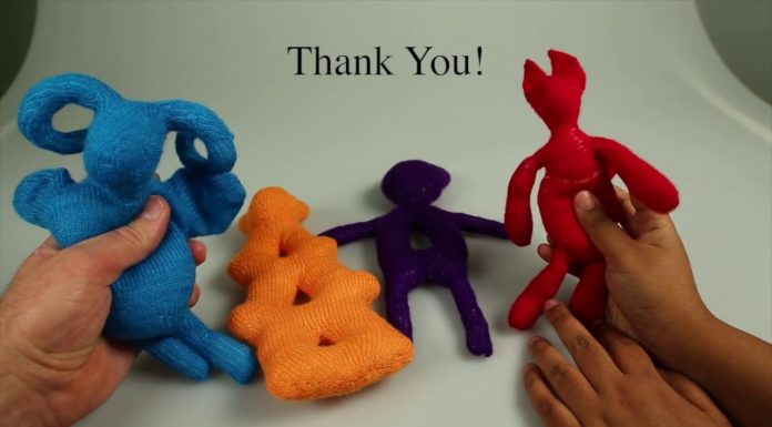 Scientists Create Knitted Replicas of 3D Printing Models