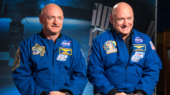 Identical Twins' DNA No Longer Match After Year in Space