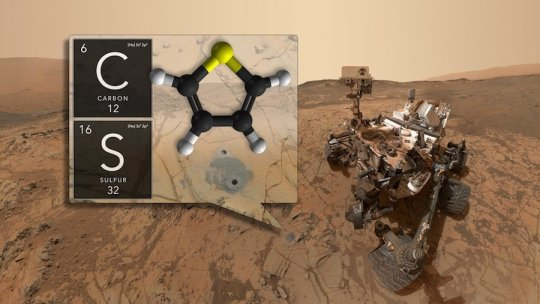 NASA found organic molecules on Mars""