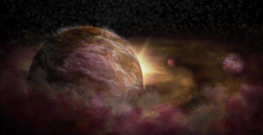 New Technique shows hidden Infant planets orbiting Newborn Star