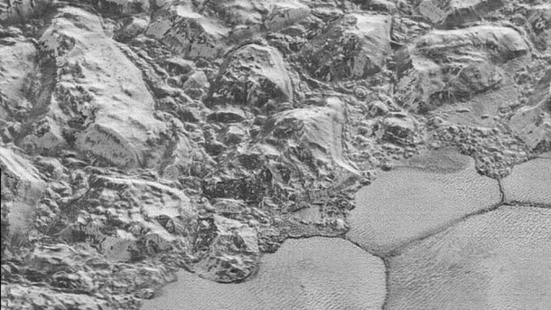 Researchers reveal dunes of frozen methane spotted on Pluto