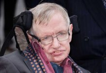 Stephen Hawking's words reach out to black hole