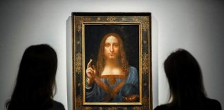 Leonardo da Vinci painting sells for record $450m