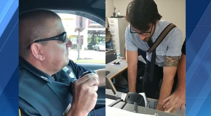 Southbridge: Son surprises officer during final radio call