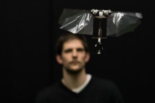 Dutch engineers develop robots, flying as agile as flies