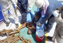 Indonesian teen survives 49 days at sea (Photo)