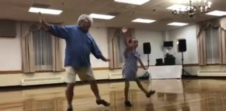 Bill Jones Maeve tap dance Routine: Grandfather steps in! 72-year-old
