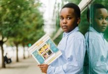 Delton Myers author with a book about childhood depression