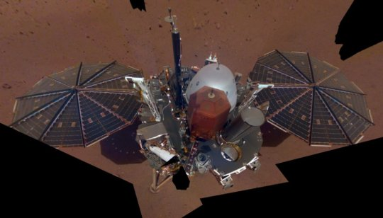 Robot-researcher InSight posted first selfie from Mars