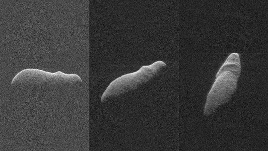 Tech: Holiday asteroid imaged with NASA radar