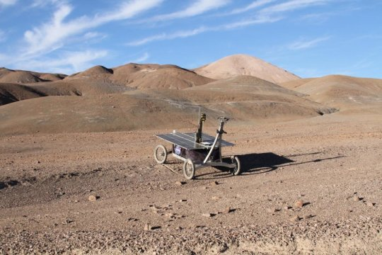 How rovers are searching for alien life in the desert