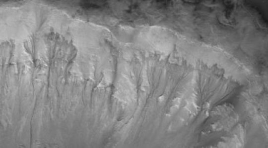 Rivers Raged On Mars Late Into Its History