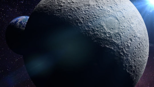 Scientists spot 'anomaly' beneath the moon's largest crater