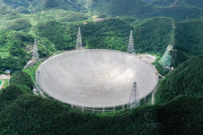 China's Giant Telescope detects 'mysterious radio burst' for first time