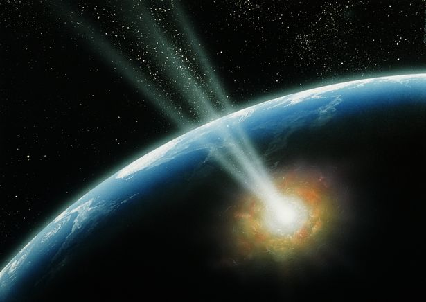 Asteroid hits atmosphere over the Caribbean