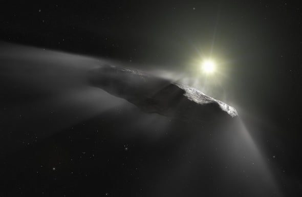 New comet from another star system just spotted