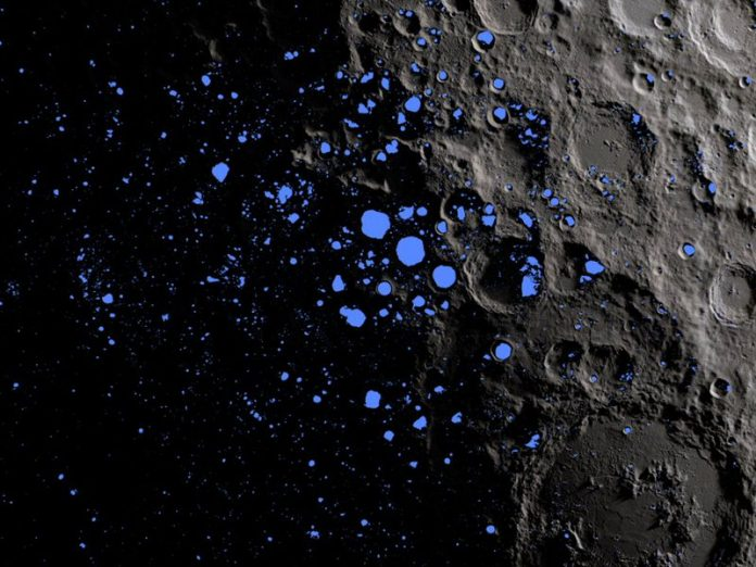 New study considers what lies below the moon's surface