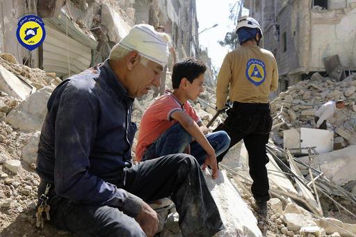 Aleppo: Airstrike hits market, kill 25 - rescue service