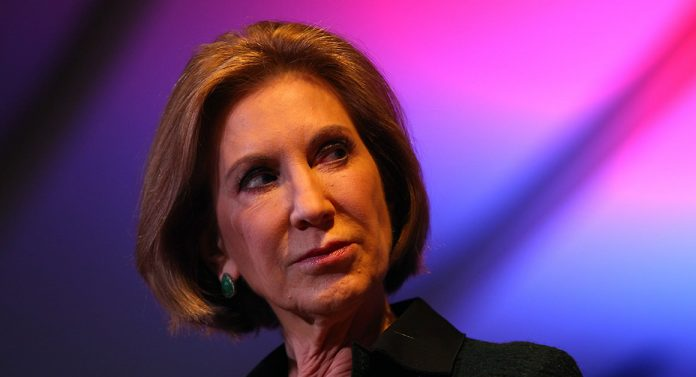 Carly Fiorina says Trump should step aside for Pence