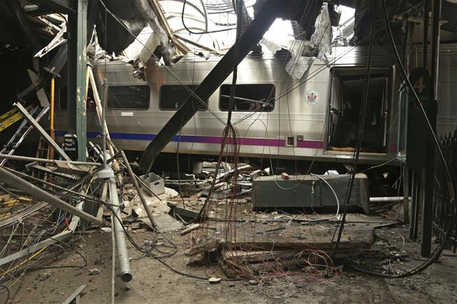 Hoboken train sped up seconds before crash