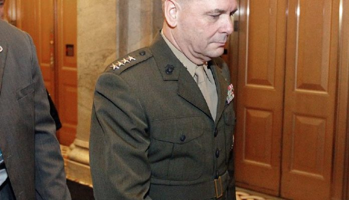 Retired Marine Gen. James Cartwright charged with making false statements