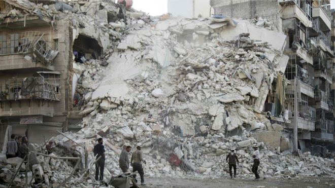 Russia calls eight-hour 'humanitarian pause' in Syrian city