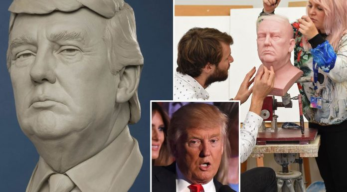 Donald Trump's Hair Secrets Revealed by Madame Tussauds
