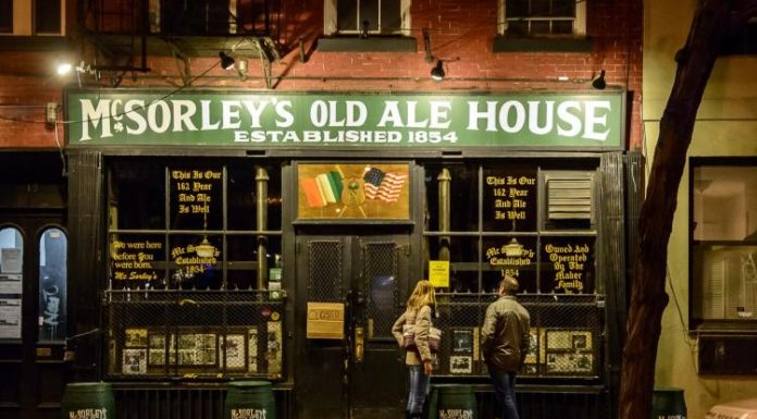 Historic pub McSorley's has been closed by the health department