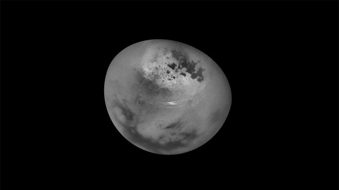Researchers released incredible footage of clouds rolling across Titan