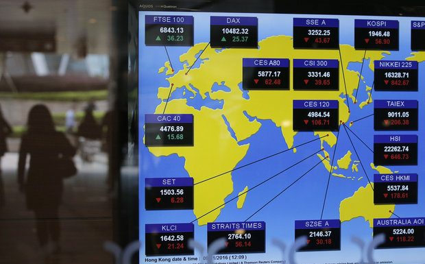 Stock markets plunge as Donald Trump takes lead in US election