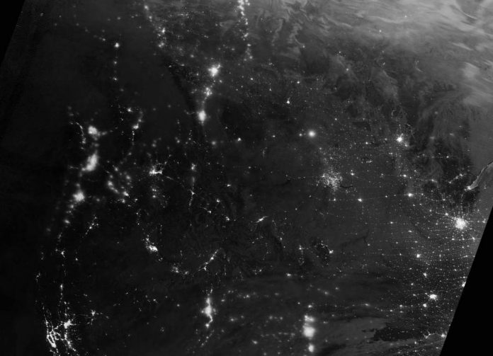 NASA satellite captures stunning view of northern lights