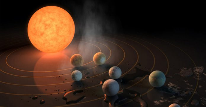 NASA Exoplanet Discovery: Scientists discover 7 Earth-sized planets orbiting nearby star