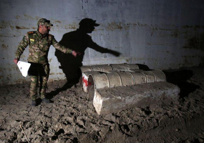 ISIS Underground Training Camp Found in western Mosul, Iraq