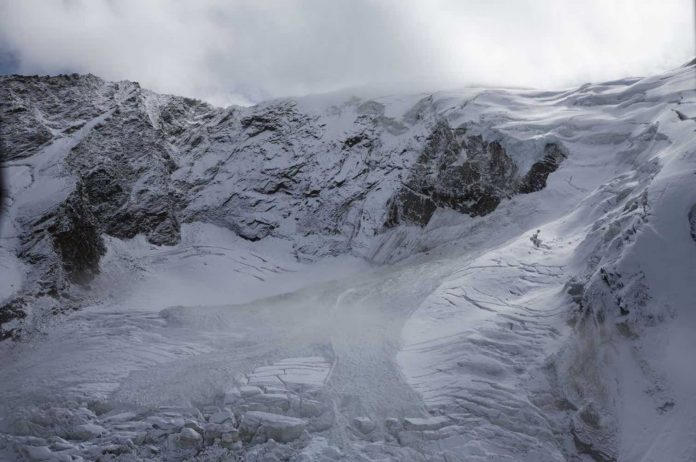 Part Of Swiss Glacier Breaks Off After Residents Evacuated